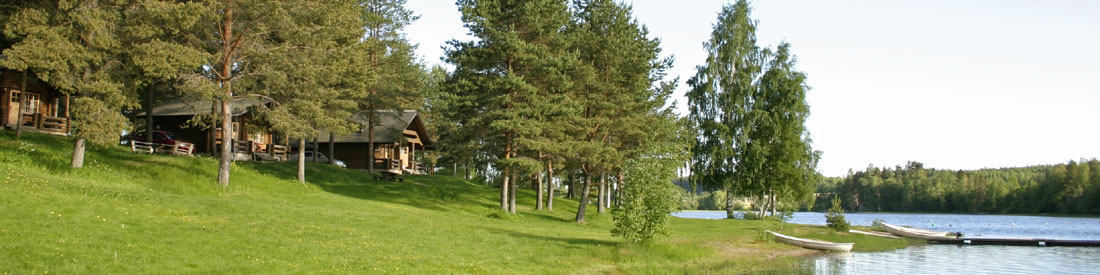 Accommodation for anglers by the Lake Ruovesi, the Tampere Region, Finland.